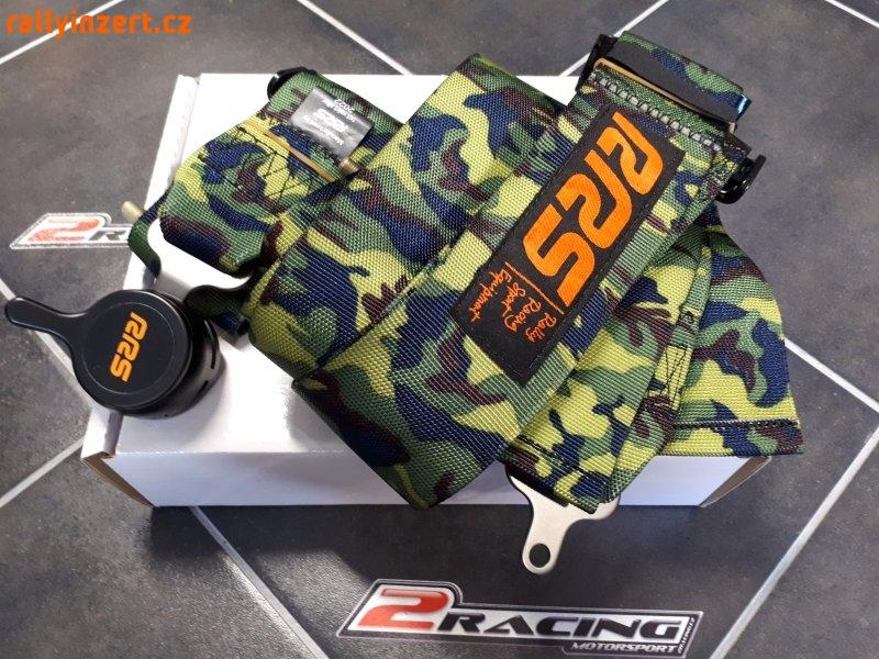 4 bodové FIA závodní pásy maskáčové camo
