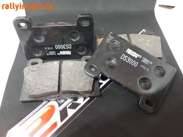 Závodní brzdové destičky Ferodo Racing Škoda 130 Rapid