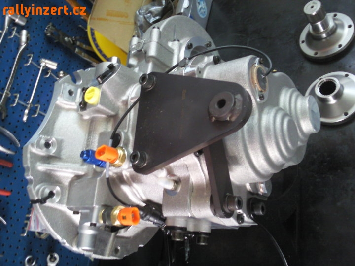Boîte de vitesses séquentielle à 6 vitesses Sadev ST75-14