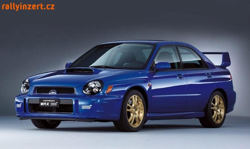 Koupím díly na Subaru Impreza WRX (2000-2003)
