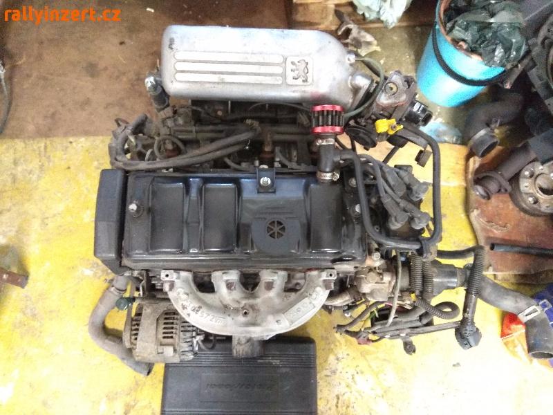 Motor z Peugeotu 106 1.3 Rallye