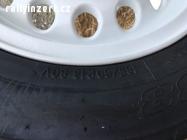 Nové pneu Toyo R888 včetně kol Centra Peppers