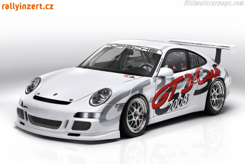 Porsche 911 GT3 Cup, pronájem vrchy