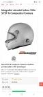 Prodám závodní Helmu Stilo ST5F s HANS (běžná cena 20tis)