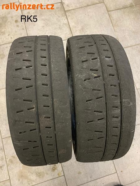 Prodám závodní pneu suchý slick Pirelli RK5 195/50 R16 rally