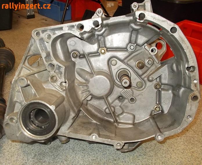 Renault Clio JC5 Samsonas gearbox dogbox