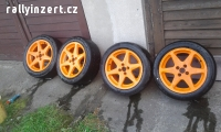slicky 205-50-r16 + kola R16 4-100