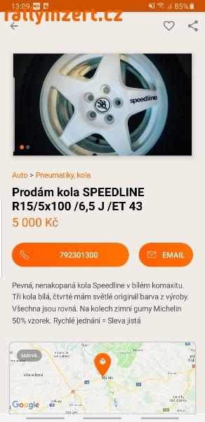 Speedline r15 5x100
