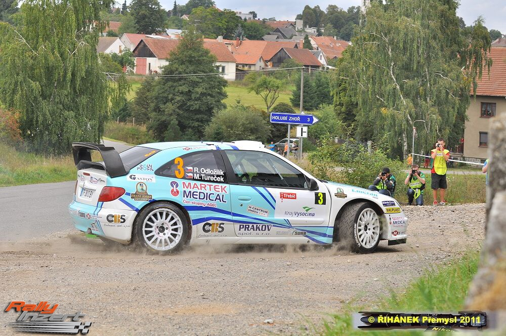 horacka rally - roman odlozilik